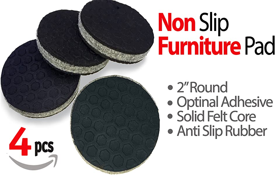 Sliptogrip 4 pack furniture grippers by iprimio for Furniture grippers