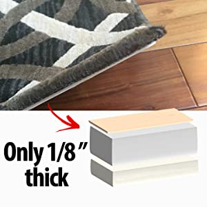 Rug Gripper With Nevercurl Includes 4 Quot V Quot Shape Corners