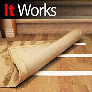 Amazon Com Mighty Quot X Quot Indoor Rug Carpet Tape Double Sided