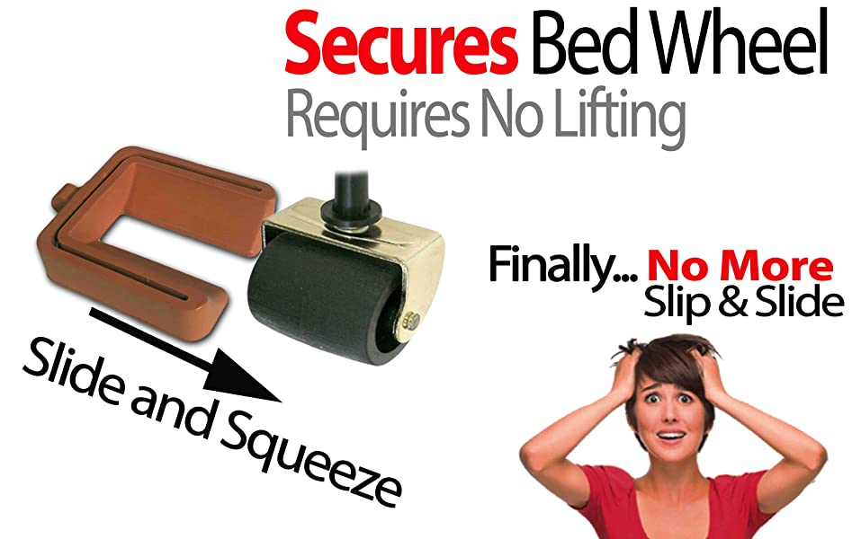 IPrimio   Newest Bed Stopper And Furniture Stopper By IPrimio. You DO NOT  Have To LIFT Your BED.