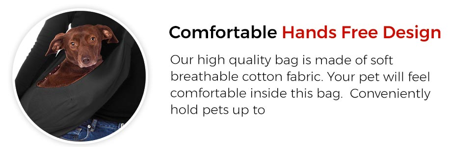 dog sling carrier