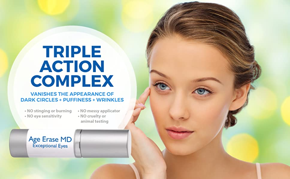 Amazon.com: Age Erase MD Anti Aging Eye Wrinkle Cream Eye Gel by ...