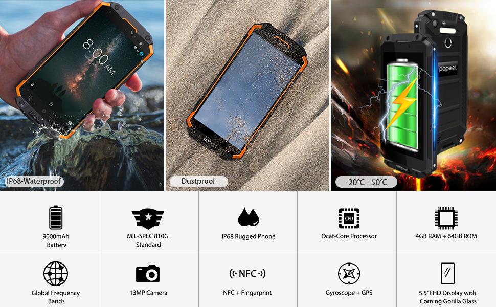 rugged waterproof phones unlocked