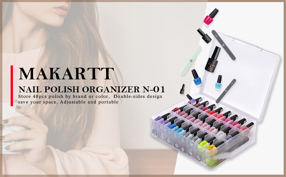 makartt nail polish holder