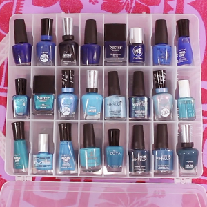 gel polish organizer
