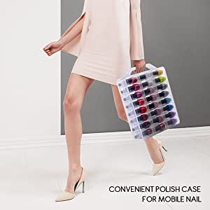 nail polish carrying case