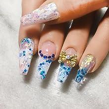 clear polygel/ poly gel / nail extension gel