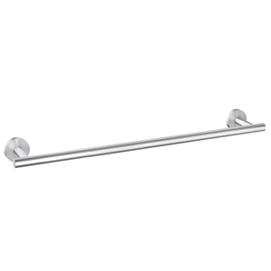 Amazon Com Luckin 24 Inch Rustproof Brushed Nickel Wall Mounted Towel Bar Modern Style 304 Stainless Steel Home Kitchen