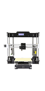 Anet A8 3D Printer, Self-Assembly 0.4mm Nozzle Aluminium ...