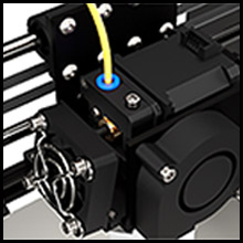 Upgraded extruder structure
