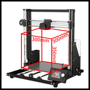 Upgraded printing size