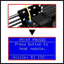 Upgraded filament loading