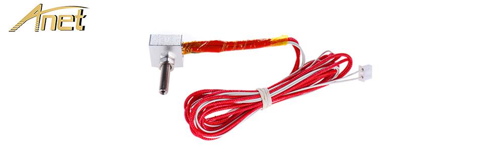 Amazon.com: Anet extremo caliente Kit para impresora 3d A8 ...