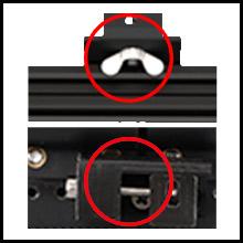 Upgraded belt adjustment
