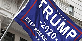 trump 2020 flag outdoor