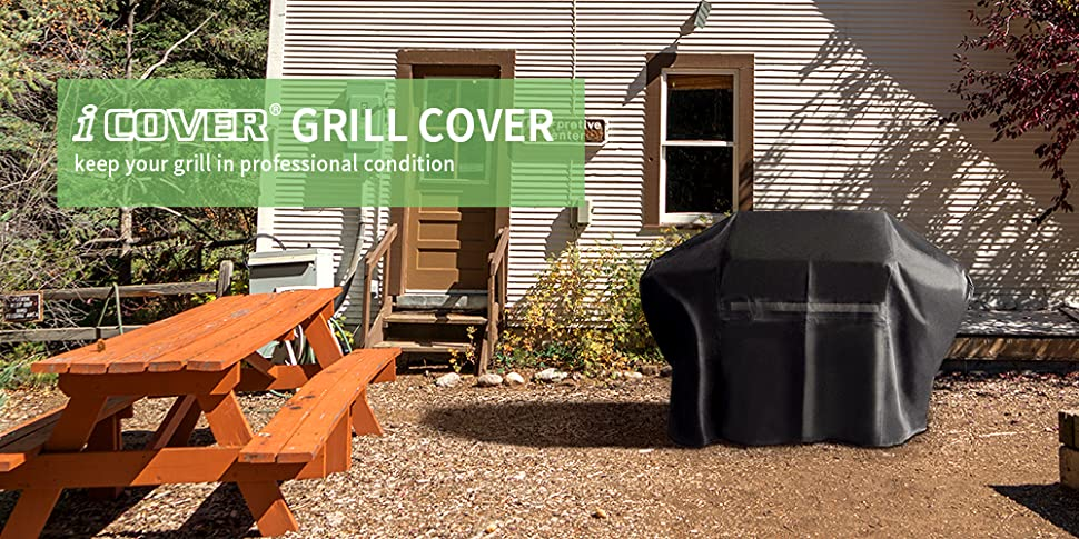 icover grill cover keeps your grill in cover fits grills for and jennair up to 60 inch long