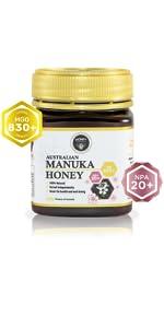Manuka Honey MGO 830+ 17.6 Oz