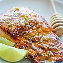 Manuka Honey Salmon Bake Recipe Honey Recipes