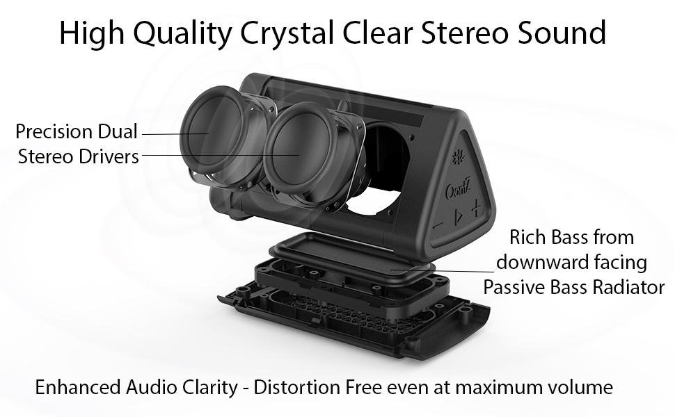 OontZ Angle 3 Portable Bluetooth Speaker