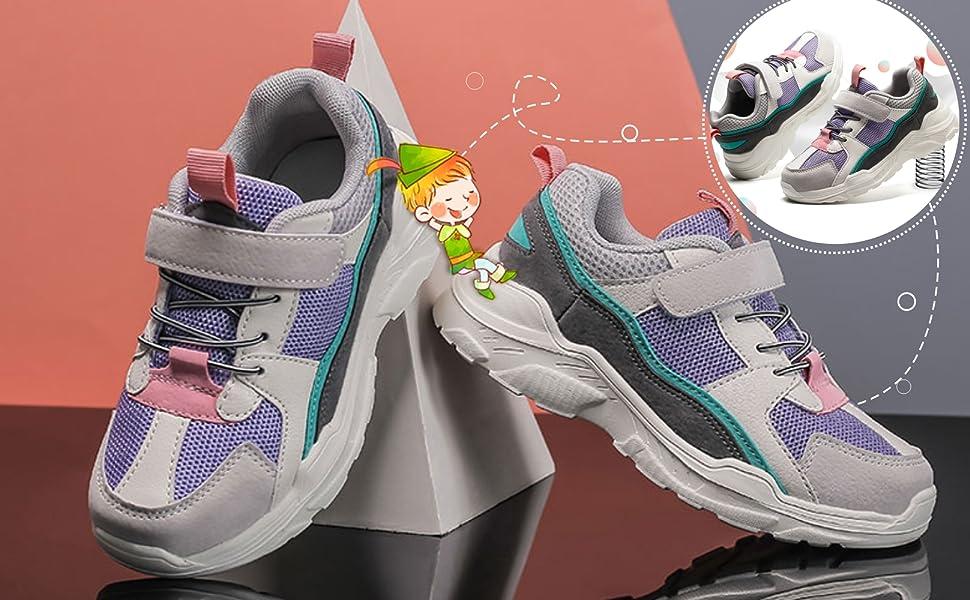 kids casual running sneakers