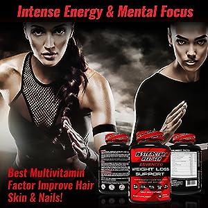 daily multivitamin - improve hair, skin and nails