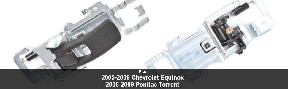 For 2005-2012 Chevrolet Equinox Door Handle Front Left 31569ZC 2006 2007 2008