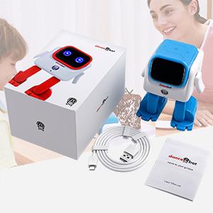 robot speaker dancing