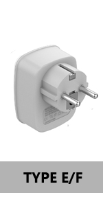 Germany/France-Type E/F Adapter