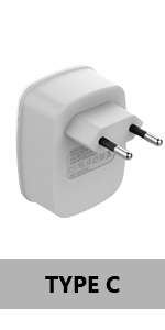 Most of Europe-Type C Adapter