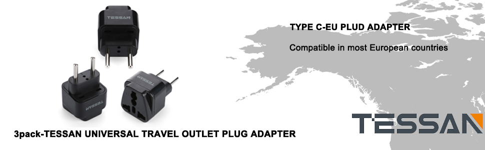 TESSAN Plug adapter
