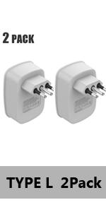 Italy power adapter