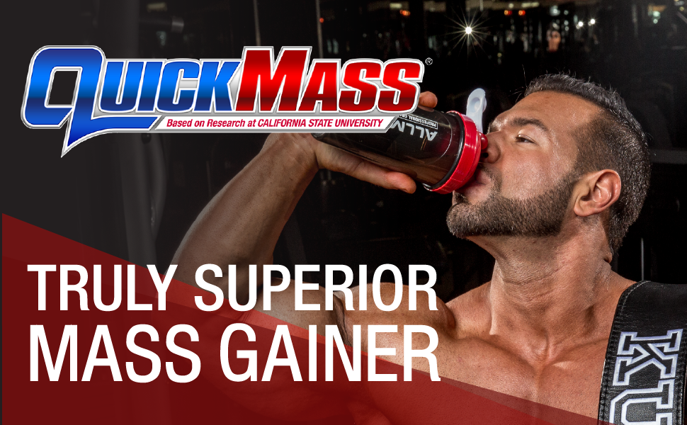 quickmass protein gain weight muscle train