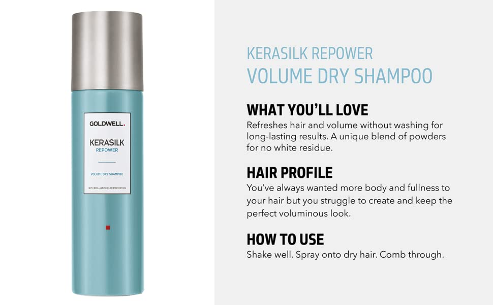 kerasilk volume repower dry shampoo bodifying fullness enhancer spray hair