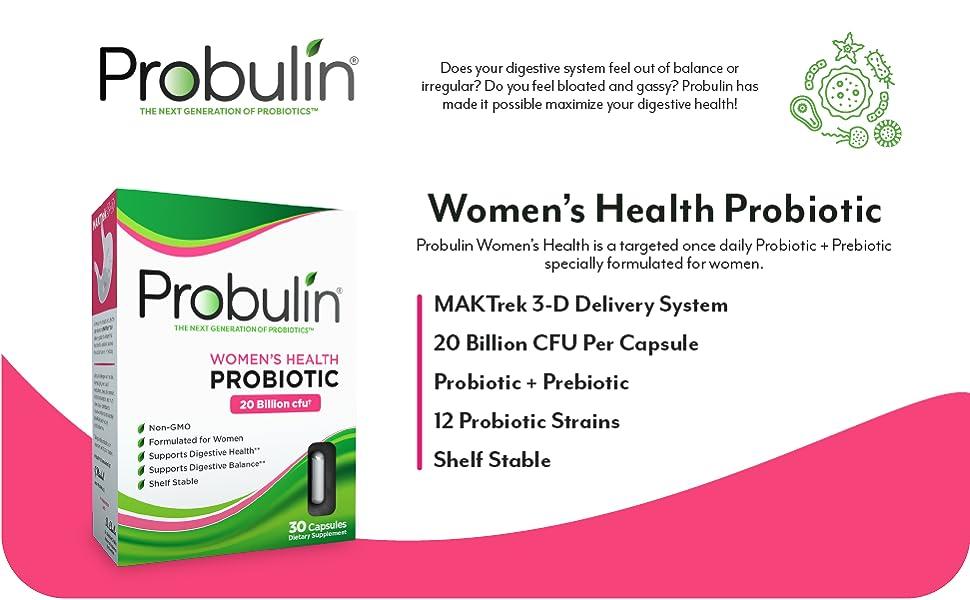 probulin womens health probiotic