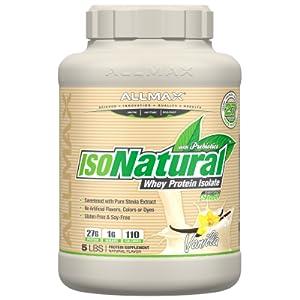 isonatural vanilla protein