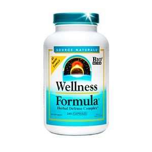 wellness formula herbal defense complex bottle