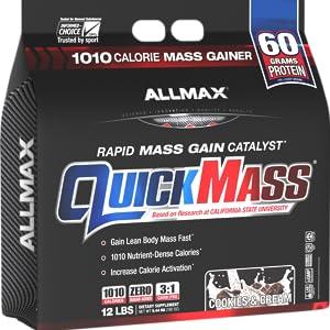 quickmass protein powder allmax