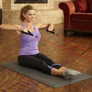 woman exercise smiling