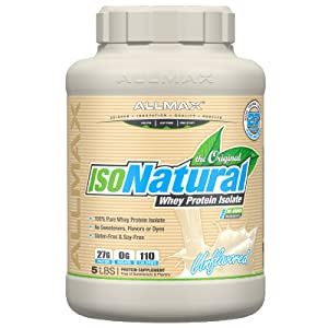 isonatural unflavored protein powder