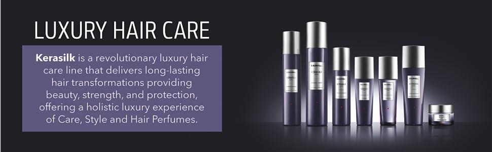 goldwell kerasilk luxury hair care smooths silky