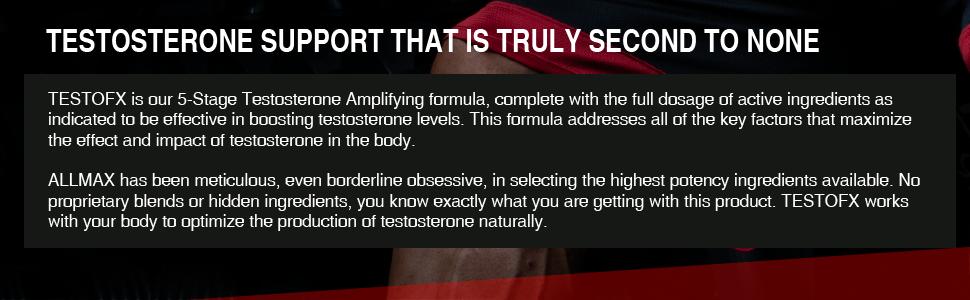 testosterone support allmax nutrition