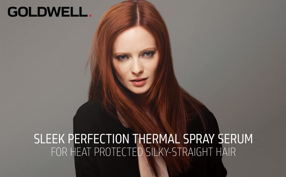 sleek perfection perfect just smooth hair spray hairspray straight straighten straightener protect