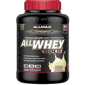 whey protein vanilla allmax