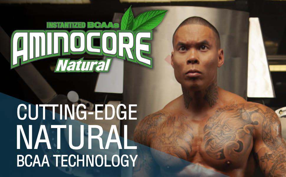 aminocore natural cutting edge bcaa technology
