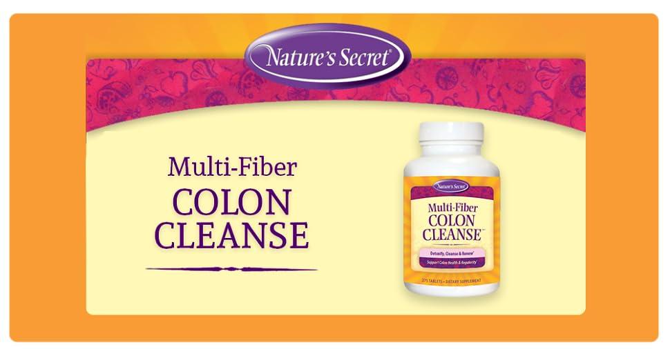 Nature S Secret Multi Fiber Cleanse