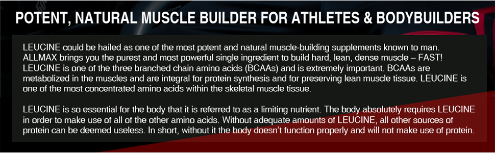 potent natural muscle builder for athletes