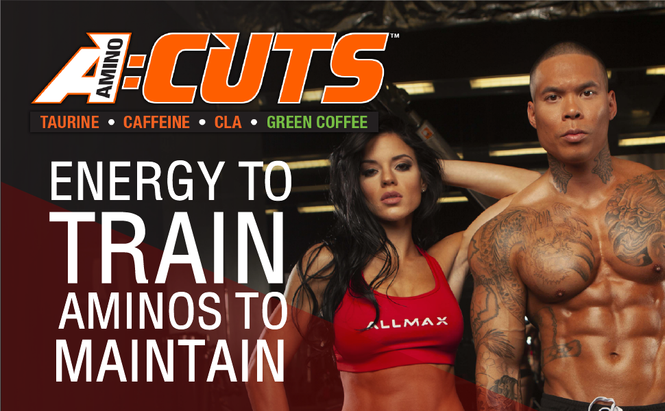 aminocuts energy to train aminos to maintain