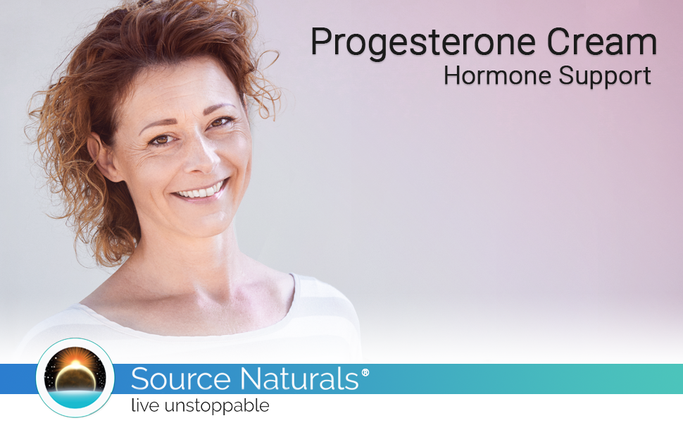 progesterone cream woman female hormone hormones support health reproductive health