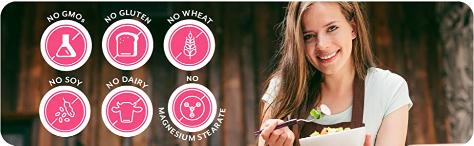 probulin womens health probiotic no gmo gluten dairy soy