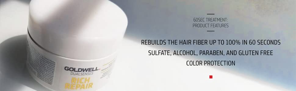 sulfate alcohol paraben gluten free color protect protection rebuild hair fiber